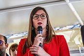"""""""Je suis candidate aux élections municipales en mars 2020"""""""